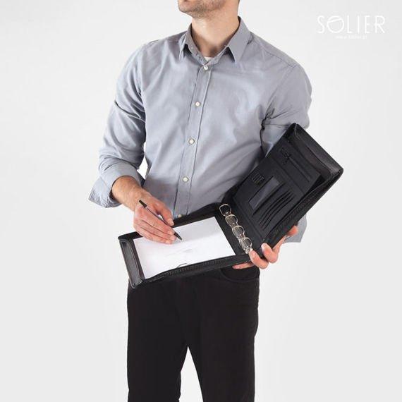 Aktówka teczka biwuar na dokumenty