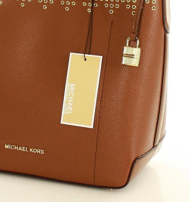 Luksusowa torebka bucket MICHAEL KORS lugg/ballet