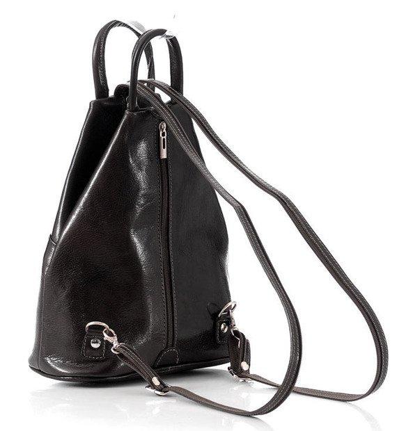 Modny plecak damski czarny MORENA CLASSIC