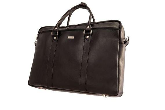 Skórzana torba na ramię laptopa Solier MARCEL