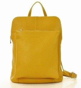CamillaMARCO MAZZINI Plecak damski torebka crossbody A4 żółty